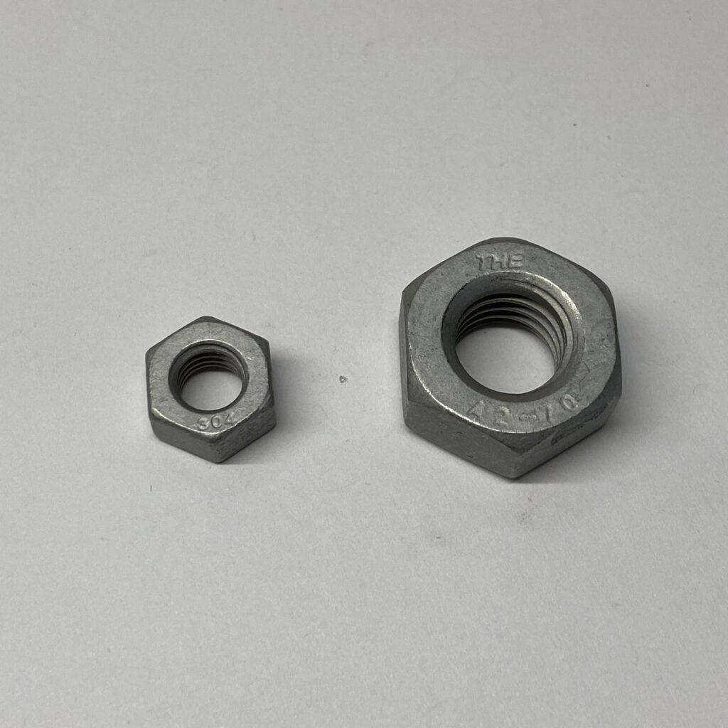 ラフレ処理六角ナット