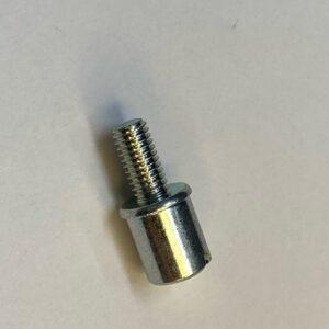 回転部品 スリワリ部も同時圧造 圧造加工+転造加工